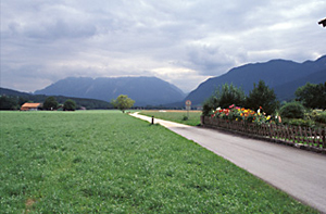 Road with Alps View, Austria
