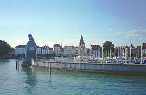 Lindau on Lake Constance